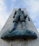 QUISSAMA, EL BRASIL - 15 DE OCTUBRE DE 2016: El monumento del día negro de la conciencia en Quissama, Rio de Janeiro Imagen de archivo