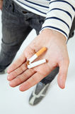 Quit the habit! Stock Images
