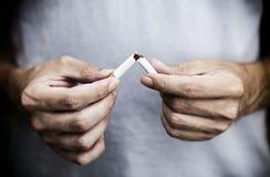 Quit que fuma hoje! Fotografia de Stock