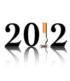 Quit smoking 2012 Stock Photography