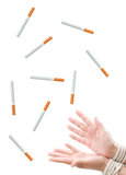 Quit smoking Royalty Free Stock Images