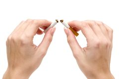 Quit Smoking Stock Photography