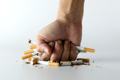Quit smoking concept Stock Images