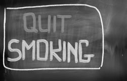 Quit Smoking Concept Stock Photo