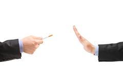 Quit smoking concept royalty free stock photos