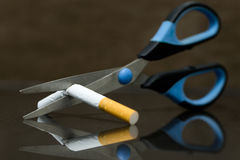 Quit smoking concept Royalty Free Stock Image