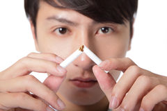 Quit smoking Stock Images
