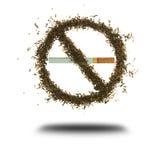 Quit smoking. No smoking - isolated on white background Vector Illustration