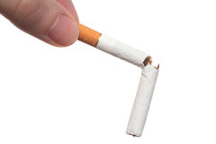 Quit smoking today! Stock Photos