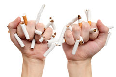 Quit smoking today! Royalty Free Stock Photography