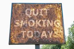 Quit smoking today Royalty Free Stock Photo