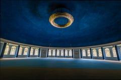 Quitandinha宫殿前赌场酒店的- Petropolis,里约热内卢,巴西Maua霍尔 免版税库存图片