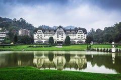 Quitandinha pałac hotel w Petropolis zdjęcia royalty free
