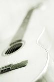 Quitar. Detail of an acoustic quitar Stock Photography