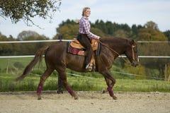 Équitation Photo stock