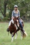 Équitation Image stock