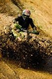 Équitation ATV d'homme. Image libre de droits