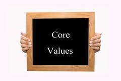 Quite el corazón a los valores Imagenes de archivo