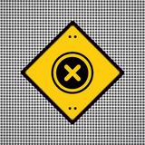 Quite el símbolo Imagen de archivo libre de regalías