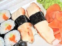 Quite el sushi Imágenes de archivo libres de regalías