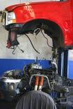 Quite la carrocería para el mecánico Imagen de archivo libre de regalías