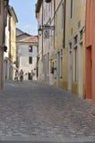 Quite street in Italian village Royalty Free Stock Photos