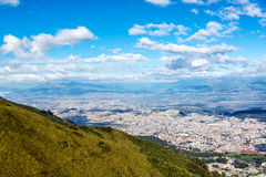 Quito from Above Stock Images