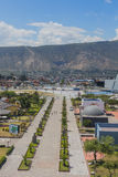 Quito , aerial view, south america Stock Photography