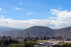 Quito , aerial view, south america Royalty Free Stock Photography