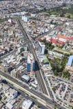 Quito, Av atahualpa Royalty-vrije Stock Afbeeldingen