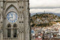 Quito, capital city of Ecuador Stock Image