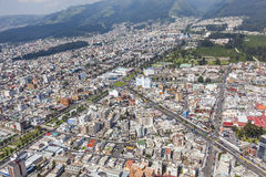 Quito, cercle de place de Marti Photo libre de droits
