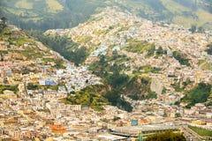 Quito City Neighborhood Royalty Free Stock Photo