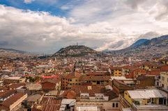 Quito Cityscape Stock Photo