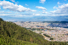 Quito Cityscape Royalty Free Stock Photography