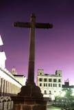 Quito Cross-, Equador foto de stock royalty free