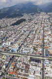 Quito Cuero y Caicedo, Selva Alegre, Las Casasgator Royaltyfria Bilder