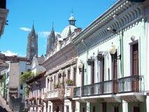Quito, de Architectuur van Ecuador Stock Foto