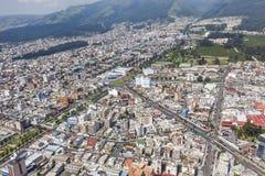 Quito, de vierkante cirkel van Marti Royalty-vrije Stock Foto