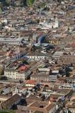 Quito Ecuador Arkivfoton
