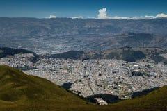 Quito Ecuador arkivbilder