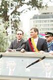 Quito, ECUADOR- MAY 24: Krajowa militarna parada Zdjęcie Stock