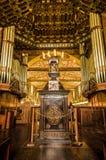 QUITO, ECUADOR - 23. OKTOBER 2017: Innenansicht der Kirche und des Klosters des Heiligen Franziskus in Quito, Ecuador Lizenzfreie Stockfotos