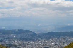 Quito, Ecuador, panoramiczny fotografia stock