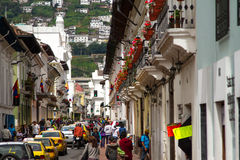 Quito, Ecuador Royalty Free Stock Photos