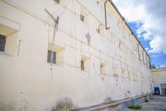 QUITO EKWADOR, LISTOPAD, - 23, 2016: Plenerowy widok stary więźniarski Karny Garcia Moreno w mieście Quito Zdjęcie Stock