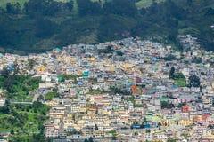Quito, Ekwador sąsiedztwo fotografia stock