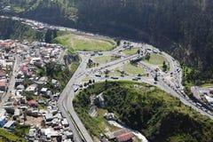 Quito, EL Trebol Stockbilder