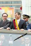 Quito, EQUADOR PODE 24: Parada militar nacional Fotos de Stock