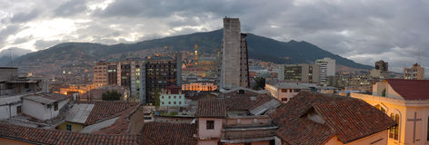 Quito evening view. Stock Images